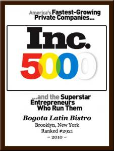 Inc 5000 2010 List